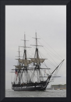 The world's oldest commissioned warship, USS Cons