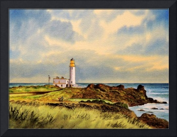 Turnberry Golf Course Scotland 9Th Tee