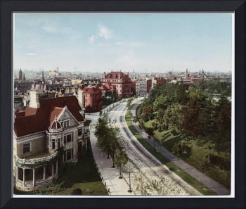 Vintage Brooklyn NY Photo-Print (1904)