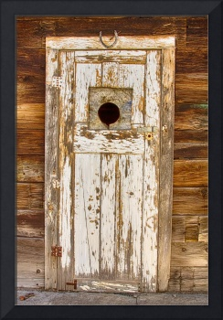 Classic Rustic Rural Worn Old Barn Door