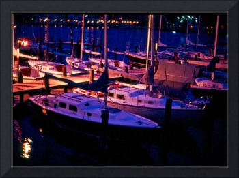 Annapolis-MD-Marina-Night-Lights