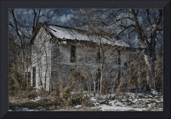 Scary Old House Color