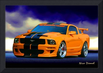Mustang GT520 Saturated