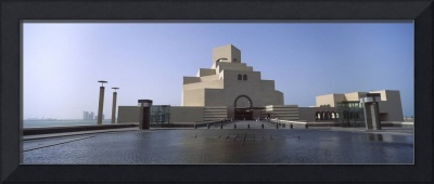 Facade of a museum Museum Of Islamic Arts Doha Ad