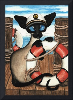 Siamese Sailor Cat
