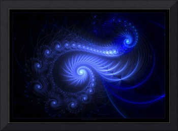 Resonant Spiral - Fractal Art