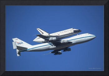 Space Shuttle Endeavor ferry flight to LA (2)