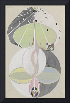 Hilma af Klint Tree of Knowledge, No 5, 1915