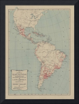Old Central & South America Railroad Construction