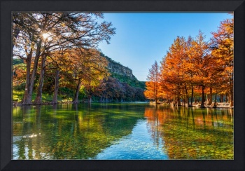 Fall in the Texas Hill Country
