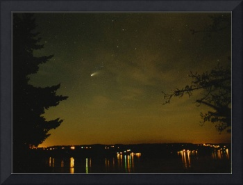 Comet Hale-Bopp Over Gig Harbor