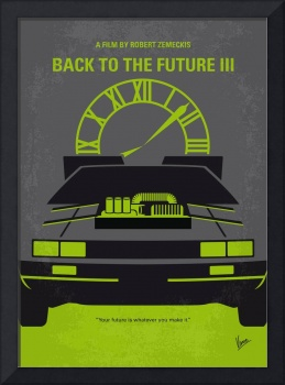 No183 My Back to the Future movie poster-part 3
