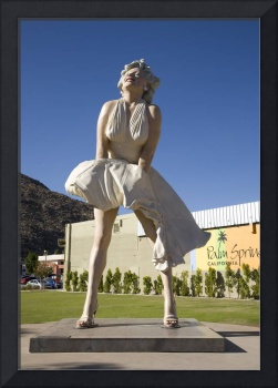 The Statue of Marilyn Monroe