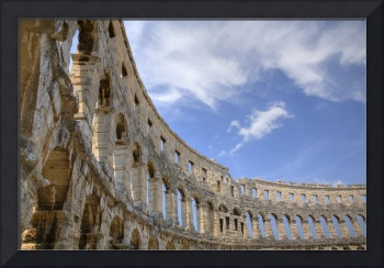 Colosseum in pula, Croatia