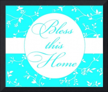 bless this home Teal 2