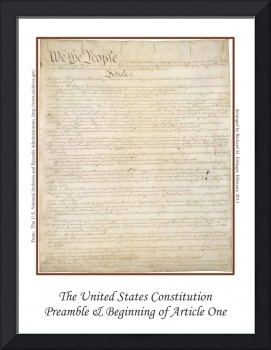 The United States Constitution - Page One