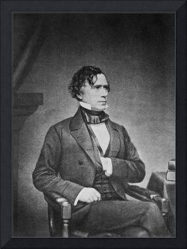 Mathew Brady photograph of Franklin Pierce