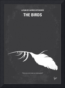 No110 My Birds minimal movie poster