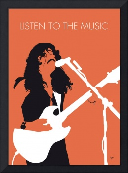 No243 MY Doobie Brothers Minimal Music poster
