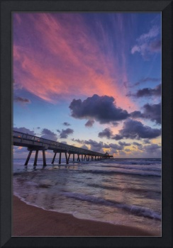 Pink Cloud over the Pier II