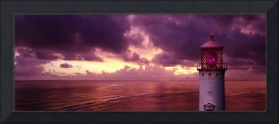 Kiluaeua-Lighthouse-Sunset
