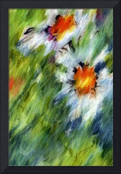 Abstract Flowers Chamomile MM