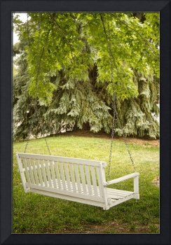 White Swing in the Green