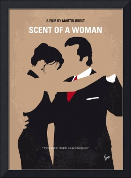 No888 My Scent of a Woman minimal movie poster