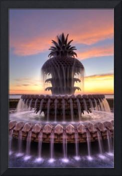 Pineapple Fountain Charleston Waterfront Park