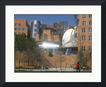 Frank Gehry MIT Building Complex