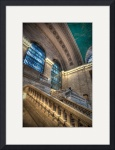 Staircase, Grand Central Station, New York City by Dave Wilson