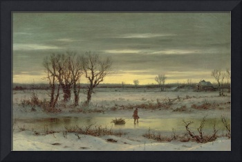 Winter Twilight Near Albany, 1858