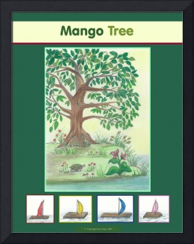 Mango Tree 2 with little Homemade Boats