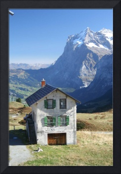 Eiger Abandon in the Swiss Alps