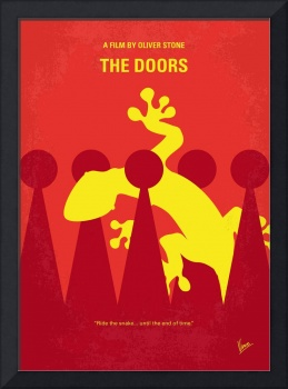No573 My THE DOORS minimal movie poster