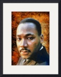 Martin Luther King by Charmaine Zoe