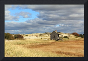 Camp and Dunes, Sandy Neck, Cape Cod