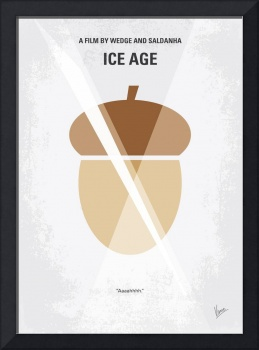 No041 My Ice Age minimal movie poster