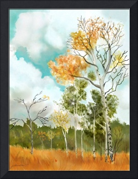 Autumn Leaves inspired by Eva Cassidy Song