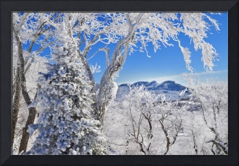 Grandfather Mountain from Sugar Mountain Awesome W