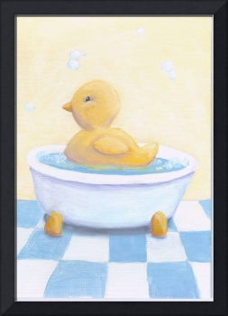 Ducky in the tub