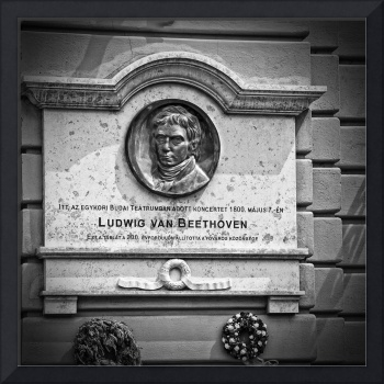 Beethoven Budapest Plaque