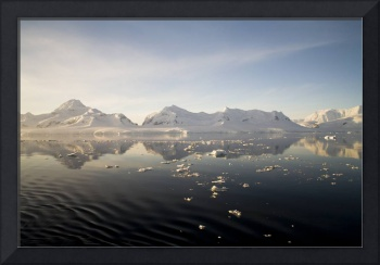 Sunset over the Neumayer Channel, Antarctica - 8