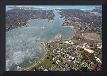Oyster Pond Aerial Photo #1