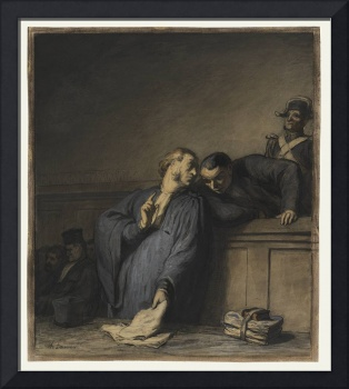Honoré Daumier (French, 1808 - 1879) A Criminal Ca