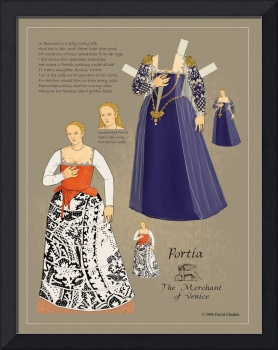 Portia from The Merchant of Venice