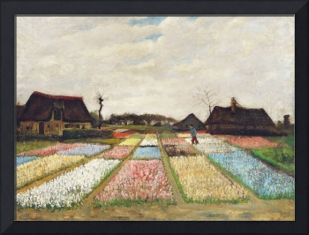 Flower Beds in Holland by Vincent Van Gogh