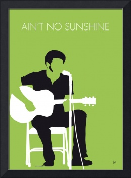 No156 MY BILL WITHERS Minimal Music poster