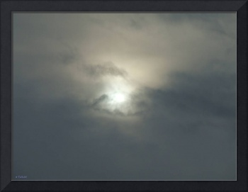 Sun through cloud