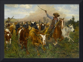 The Herders by Richard Lorenz